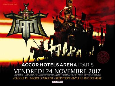 """IAM joue """"L'Ecole du Micro d'Argent"""" en concert à l'AccorHotels Arena de Paris en 2017"""