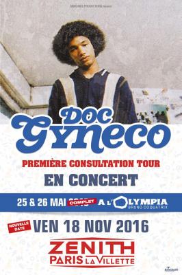 Doc Gynéco en concert au Zénith de Paris en 2016