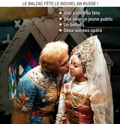 Nouvel an Russe 2016 au Balzac