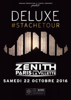 Deluxe en concert au Zénith de Paris en 2016