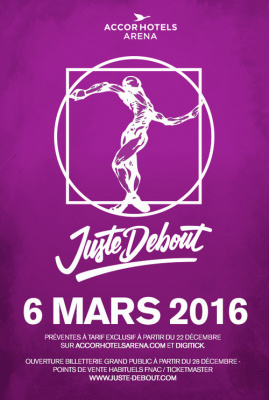 Juste Debout 2016 à Bercy Arena de Paris