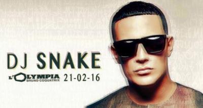 DJ Snake en concert à l'Olympia de Paris en 2016