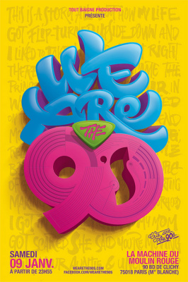 We Are The 90's #76 à La Machine