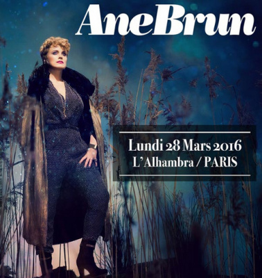 Ane Brun en concert à l'Alhambra de Paris en 2016