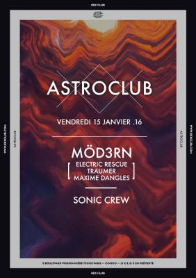 Astroclub au Rex Club avec Modern