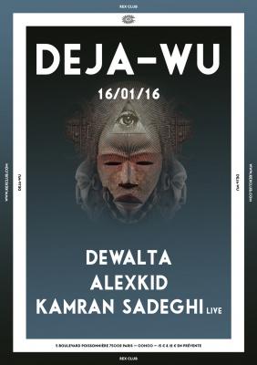 Déjà-Wu au Rex Club avec Kamran Sadeghi