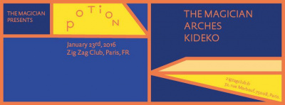Potion Night au Zig Zag Club avec The Magician