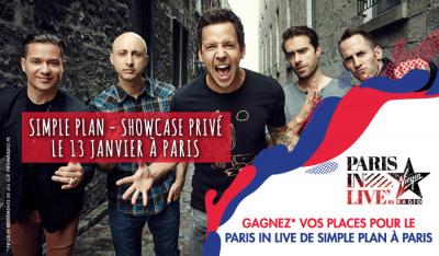 Paris in Live au 118 avec Simple Plan : gagne ta place !