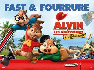 Alvin et les Chipmunks – A Fond la caisse en avant-première au Grand Rex de Paris