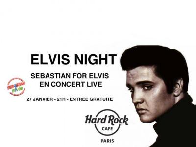 Elvis Night au Hard Rock Cafe Paris