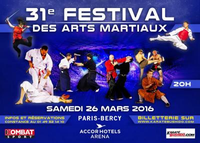 Festival des Arts Martiaux 2016 à Bercy Arena de Paris