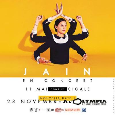 Jain en concert à l'Olympia de Paris