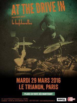 A The Drive In en cocnert au Trianon de Paris en 2016