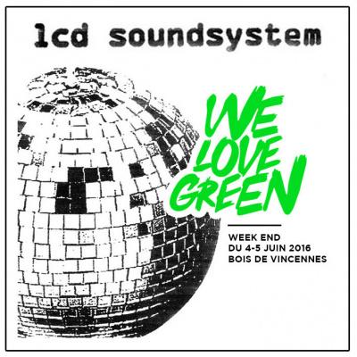We Love Green 2016 à Paris : LCD Soundsystem en concert au Bois de Vincennes