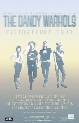 The Dandy Warhols en concert au Trianon de Paris en mai 2016