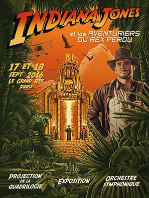 Saga Indiana Jones au Grand Rex de Paris