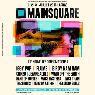 Main Square Festival 2016 à Arras : dates, programmation et réservations