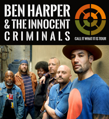 Ben Harper & The Innocent Criminals en concert à l'Arena de Paris Bercy en 2016