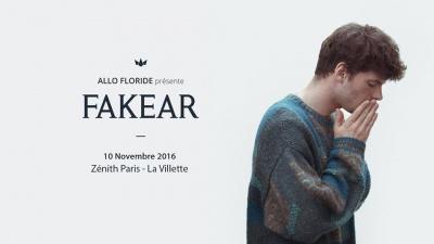 Fakear en concert au Zénith de Paris en 2016