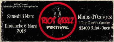 Riot Grrlz Festival 2016 aux Mains d'œuvres