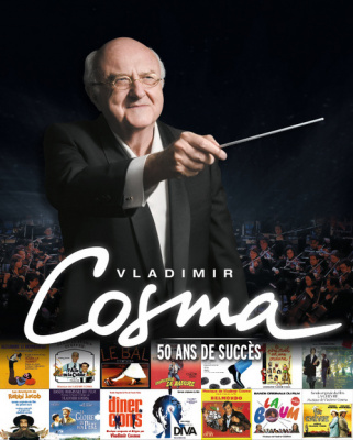 Vladimir Cosma en concert au Palais des Congrès de Paris en octobre 2016