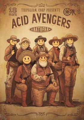 Acid Avengers au Batofar