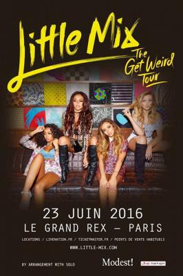 Little Mix en concert au Grand Rex de Paris