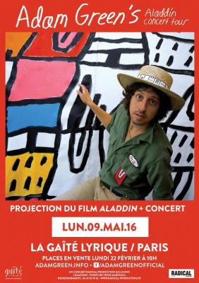 Adam Green en concert à La Gaîté Lyrique de Paris