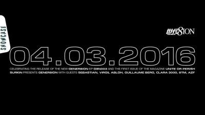 Surkin présente Gener8ion au Showcase