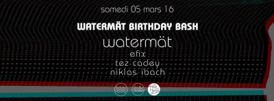 Watermät Birthday Party au Zig Zag Club