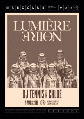 Lumière Noire au Rex Club avec DJ Tennis