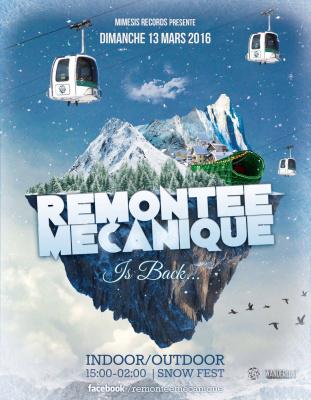 Remontée Mécanique : le Snow Fest de retour au Wanderlust