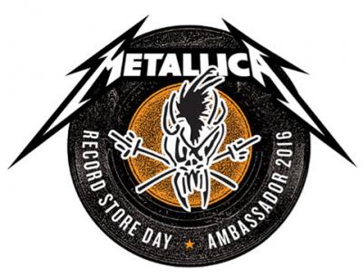 Metallica : Ambassadeur du Record Store Day - Disquaire Day 2016