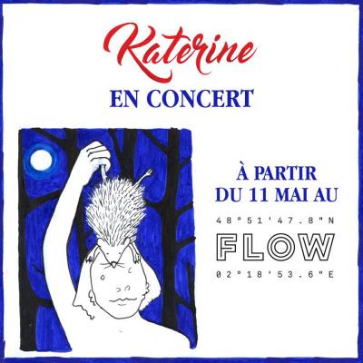 Katerine en concerts au Flow à Paris