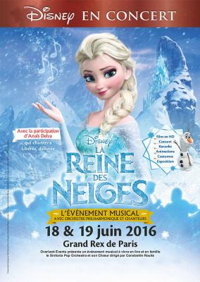 La Reine des Neige en ciné-concert au Grand Rex de Paris