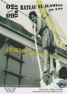 Le bateau El Alamein fête ses 20 ans en musique