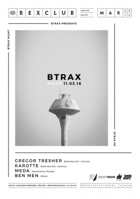 Btrax Night au Rex Club