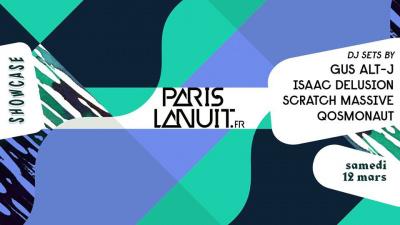 Paris La Nuit présente Gus de Alt-J et Isaac Delusion en DJ Set au Showcase