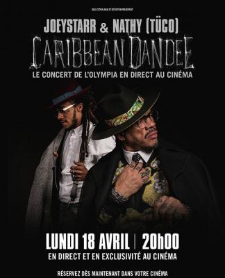 JoeyStarr & Nathy, aka Caribbean Dandee, à l'Olympia : retransmission du concert en direct au cinéma