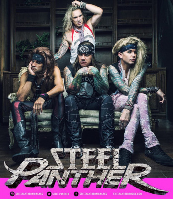 Steel Panther en concert à La Cigale de Paris en octobre 2016