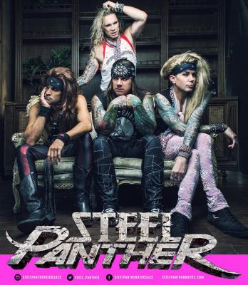 Steel Panther en concert à La Cigale de Paris en octobre 2016