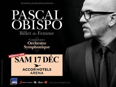 Pascal Obispo en concert à l'Arena Bercy de Paris en décembre 2016