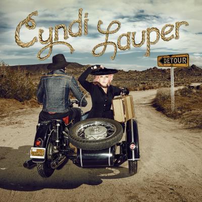 Cyndi Lauper en concert au Grand Rex de Paris en juillet 2016