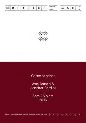 Correspondant au Rex Club avec Axel Boman