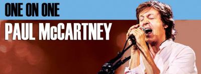 Paul McCartney en concert à l'Arena Bercy de Paris en mai 2016