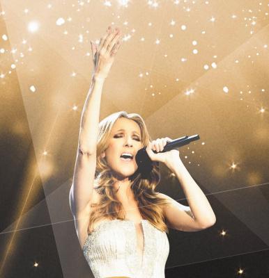 Céline Dion en concerts à l'AccorHotels Arena de Paris en 2016