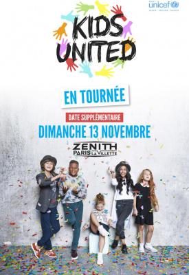 Kids United en concert au Zénith de Paris en novembre 2016