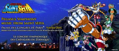 Pegasus Symphony : music from Saint Seiya au Palais des Congrès de Paris