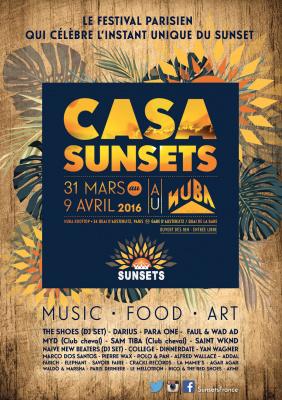 Festival Casa Sunsets sur le rooftop du Nüba