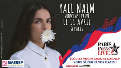 Paris In Live avec Yaël Naim au Bus Palladium